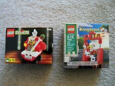 LEGO System Castle Kingdoms - Super Rare - 2586 King & 7953 Court Jester