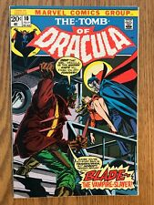 TOMB OF DRACULA #10 - 1ST BLADE APPEARANCE - BEAUTIFUL CONDITION (8.0 VERY FINE)