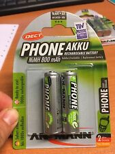 Ansmann Phone Akku maxE NiMH Mignon AA 800 mAh DECT NiMH