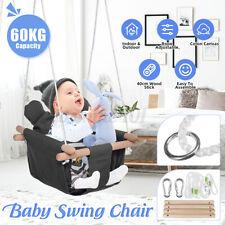 Babyschaukel Kinderschaukel Gartenschaukel Babysitz Outdoor Baby Schaukelsitz