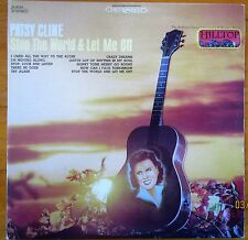 "PATSY CLINE ""STOP THE WORLD & LET ME OFF"" 1968 Vinyl Record LP Hilltop JS-6039"