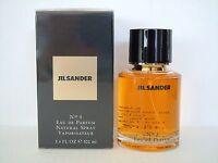 Jil Sander No 4 100ml Eau de Parfum vapo NEUF Blister *Livraison recommandee*