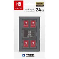 Nintendo Switch JAPAN official Licensed Game Software Card Case 24 Black