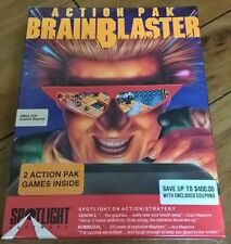 BrainBlaster Action Pak For Amiga: Xenon 2 & Bombuzal, FACTORY SEALED Cinemaware