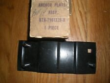 NOS 1957 1958 FORD COUNTRY SEDAN REAR SEAT BACK STOP ANCHOR PLATE ASY
