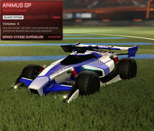 PS4 Animus GP Painted White Rocket League / Cheapest Price & Fast delivery