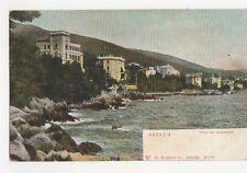 Abbazia Villen am Suedstrand Vintage Postcard 227a