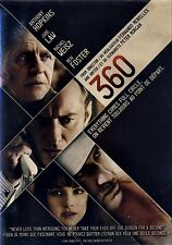 NEW DVD // 360 //   Jude Law, Rachel Weisz, Anthony Hopkins, Jamel Debbouze, Din
