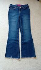 Junior's GLO Jeans w/ Frayed Ends Size 0 Short EUC!!
