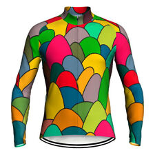 Colorful Cycling Jersey Long Bike Jacket Motocross MTB Shirt Clothing Bicycle