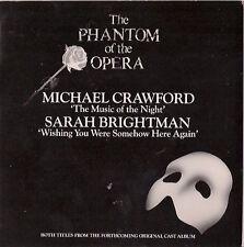 "Le fantôme de l'Opéra (7"" single) Crawford/Brightman"