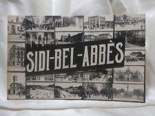 POSTCARD 1915-30 PARIS Sidi-Bel-Abbés Places People Things To See VINTAGE
