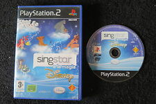 PS2 : SINGSTAR E LA MAGIA DISNEY - ITA ! 20 canzoni e video dei classici Disney