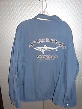 Ralph Lauren Polo GREY REEF SHARK TOURNAMENT Windbreaker Sailing Jacket Coat