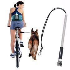 Pet Dog Bicycle Leash Hands Free Lead Strap Rope Walker Bike Distance Keeper