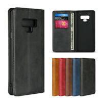 For Samsung Galaxy Note 9 Luxury Magnetic Leather Wallet Flip Case Cover Note9