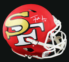 Frank Gore Signed San Francisco 49ers Speed Authentic AMP NFL Helmet
