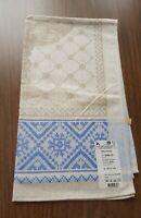 New~Blue~Belarus/Belorussia~Cotton/Linen Dish Tea Kitchen Towel~Jacquard~19x34