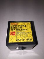KODAK COLOR PRINTING EKTAR LENS 157 MM F/6.3 CAT 131 9441