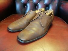 LOAKE Vintage Grain Leather Derby Shoes Size 8 (UK) 42 (EU) 8.5 (US) Made in UK.