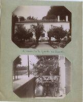 Campo Da La Gravette Francia A Identificare Foto Amateur Stampa Citrato Ca 1900