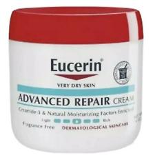 Eucerin Advanced Repair Cream Fragrance Free Lotion Moisturizer Dry Skin16 oz
