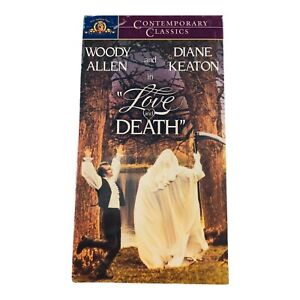 Love and Death (VHS, 1990) Starring Woody Allen & Diane Keaton