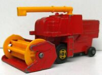 Combine Harvester rot MATCHBOX Series No. 51 (C) 1977 Lesney Made in England