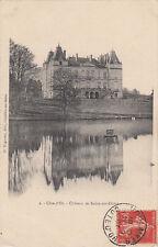 BELAN-SUR-OURCE 2 château éd bogureau timbrée 1907