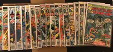 Super Villain Team Up 1-17 Giant Size 1 and 2, Complete Run