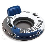 Intex River Run Badespaß Badeinsel Luftmatratze Schwimmring 135 cm Getränkehalte