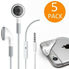 Fosmon 5x Earphone Mic for Apple iPhone 6 5S 5C 5 4S SE iPod iPad Earbud Headset