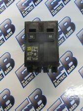 Square D Hom250, 50 Amp 240 Volt 2 Pole Circuit Breaker- Warranty