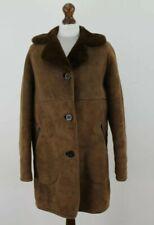 Sheepskin Brown Shearling Coat size 36