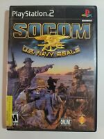 SOCOM: U.S. Navy SEALs (Sony PlayStation 2, 2002) Complete and Tested
