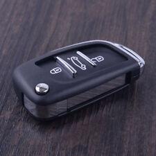 Folding Flip Key Remote Case 3 Button for Peugeot 406 407 408 307 308 107 207