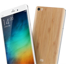 Original Wood Bamboo Case Back Battery Cover Replacement for Xiaomi Mi Note Mi 5