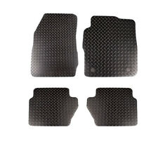 Ford Fiesta 2011 to 2017 Fully Tailored Rubber Car Mats 3mm Clearance