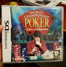 World Championship Poker Deluxe Series (no Booklet) Nintendo DS (NDS)FREE POST