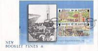 (45410) GB FDC Alderney FDC Garrison Island II Booklet Pane - 10 November 1998