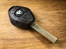 BMW 3,5,7,Z3,Z4,Z8,X3,X5  key fob 433 MHz HU92 cut to code / photo (no emblem)