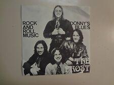 "FROST:(w/Dick Wagner Of Alice Cooper)Rock & Roll Music-Sweden 7"" 70 Vanguard PSL"