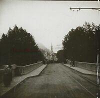 Francia Santuario Da Pesanti Foto PL53L5n5 Stereo Placca Da Lente Vintage