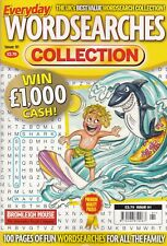 WORDSEARCH PUZZLE BOOK: EVERYDAY COLLECTION #91 - BUY ANY 2 GET ANY 1 FREE