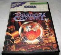 Dragon Crystal Sega Master System *No Manual*