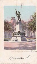 * CANADA - Montreal - Statue of Maisonneuve 1902