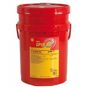 Shell Spirax S2 A 80W-90 Gear Oil 20L fits Ford F-150 4.9 AWD (110kw), 5.8 V8...