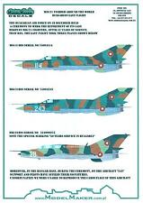 "Model Maker Decals 1/72 MIKOYAN MiG-21 ""FISHBED"" Bulgarian Air Force Last Flight"