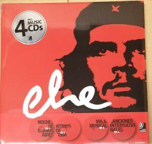 Che - Libro Fotografico EarBooks - Libro + 4 CD - Raro