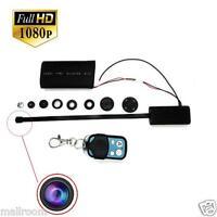 2.4G HD 1080P DIY Module Kamera Video MINI Camera DV DVR Motion w/ Fernbedienung